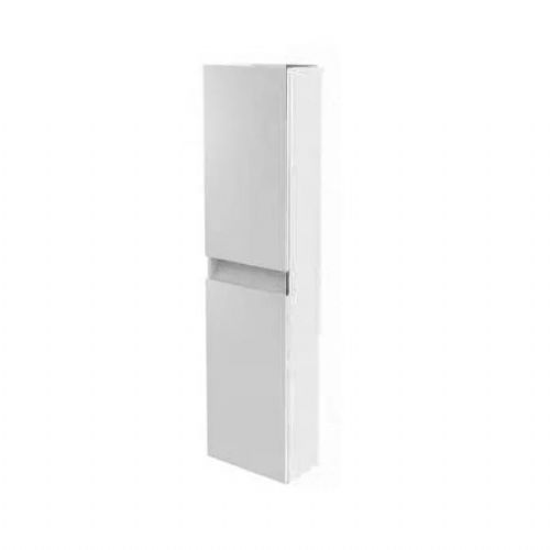 Kartell Ikon Wall Mounted Tall Storage Unit - 1600mm High - White - Right Handed